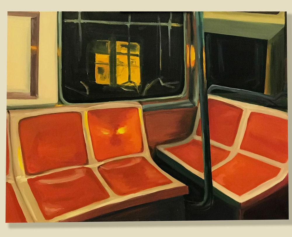 On the Broad Street Line – Alicia Rinier