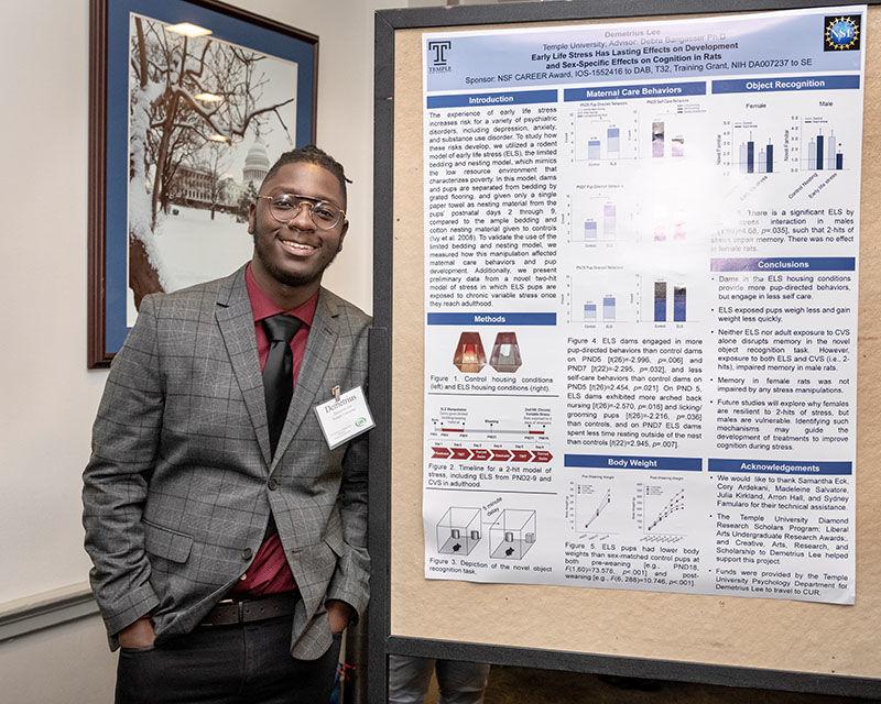 Demetrius Lee, 2018 Diamond Research Scholar